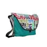 Muestre los colores de su bolso #8 de la fe bolsa de mensajeria