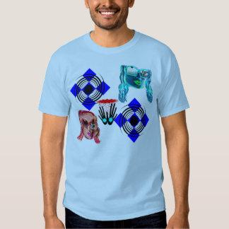 Muestre los colores verdaderos camisas