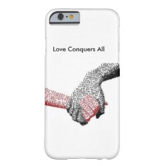 Muestre su amor con este caso hermoso del teléfono funda barely there iPhone 6
