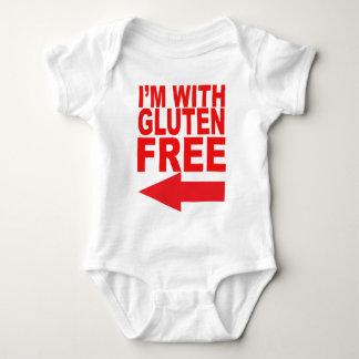 ¡Muestre su ayuda para su amada Gluten-Libre! Body Para Bebé