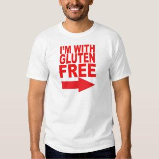 ¡Muestre su ayuda para su amada Gluten-Libre! Playera