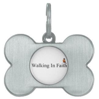Muestre su fe con los productos de encargo placas mascota