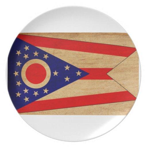 ¡Muestre su orgullo de Ohio! Platos