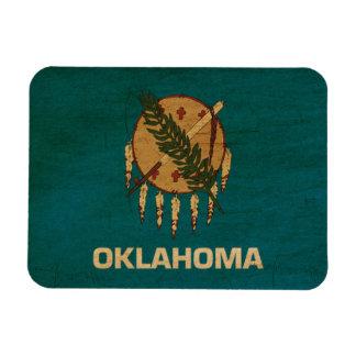 ¡Muestre su orgullo de Oklahoma! Iman Rectangular