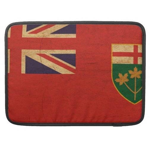¡Muestre su orgullo de Ontario! Funda Para Macbook Pro