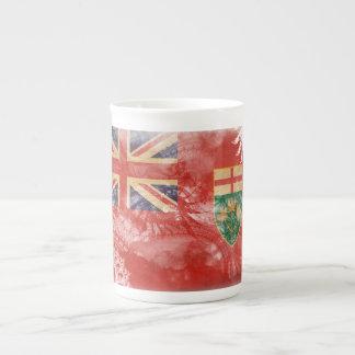 ¡Muestre su orgullo de Ontario! Taza De Porcelana