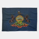 ¡Muestre su orgullo de Pennsylvania! Toallas De Cocina