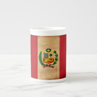 ¡Muestre su orgullo de Perú! Taza De Porcelana