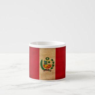 ¡Muestre su orgullo de Perú! Taza Espresso