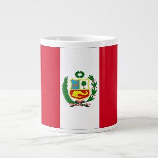 ¡Muestre su orgullo de Perú! Taza Grande