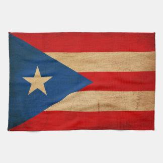 ¡Muestre su orgullo de Puerto Rico! Toallas De Mano