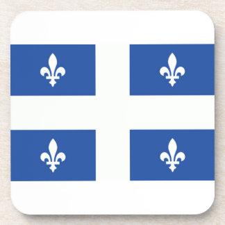 ¡Muestre su orgullo de Quebec! Posavasos De Bebidas