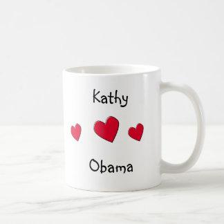 Muestre su taza de la ayuda de Obama
