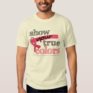 Muestre sus colores verdaderos camisas