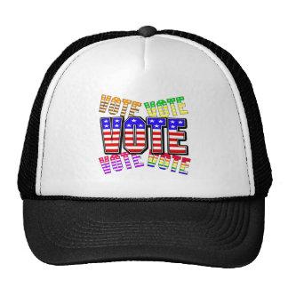 Muestre sus colores verdaderos - voto gorra