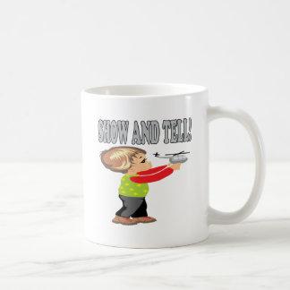 Muestre y diga 2 taza de café