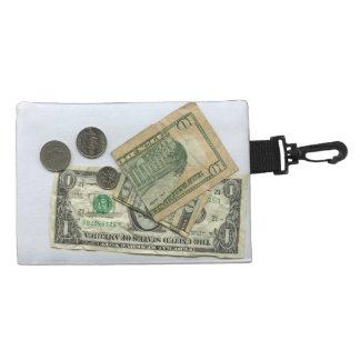 Muéstreme el bolso del clip del dinero