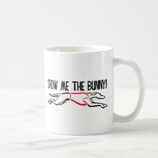 ¡Muéstreme el conejito! Tazas De Café