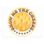 Muéstreme el queso R Postales