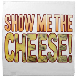 Muéstreme el queso verde servilletas