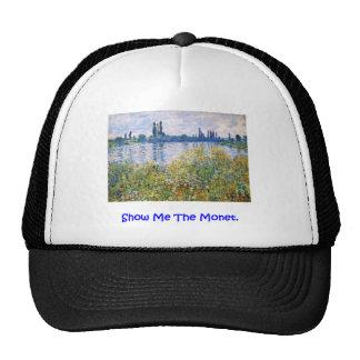 Muéstreme el sombrero del casquillo de Monet Gorras De Camionero
