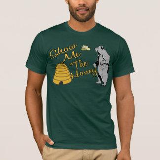 Muéstreme la camiseta de la miel