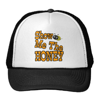 muéstreme la miel gorras
