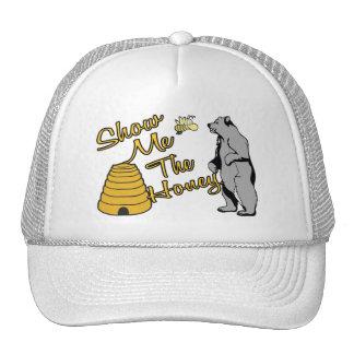 Muéstreme la miel gorras de camionero