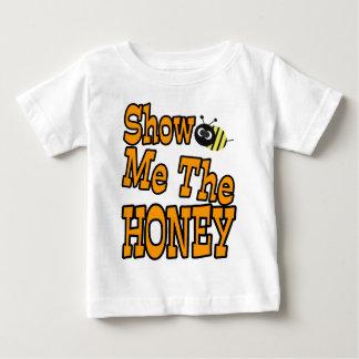muéstreme la miel playera de bebé