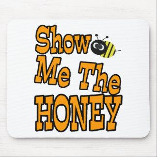 muéstreme la miel alfombrilla de ratón