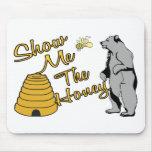 Muéstreme la miel tapetes de raton