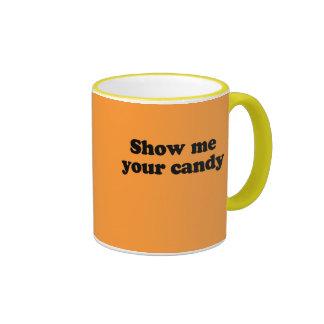 Muéstreme su caramelo taza de café
