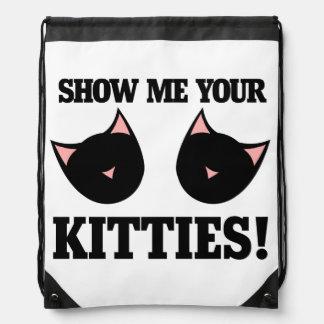 Muéstreme sus gatitos mochila
