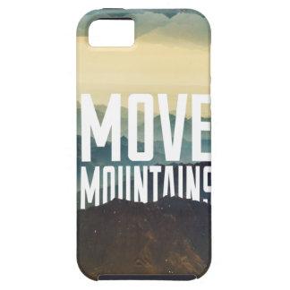 Mueva las montañas iPhone 5 Case-Mate protector