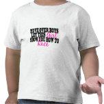Muévase sobre muchachos… camiseta