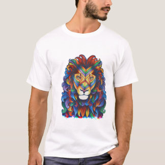 Mufasa in Technicolour T-Shirt