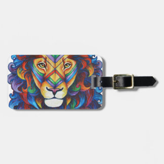 Mufasa's new hair do bag tag