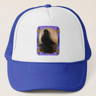 Muffed Tumbler Pigeon Framed Trucker Hat