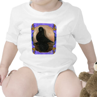 Muffed Tumbler Pigeon Framed T Shirts