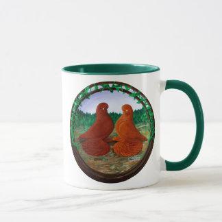 Muffed Tumbler Pigeons2 Mug