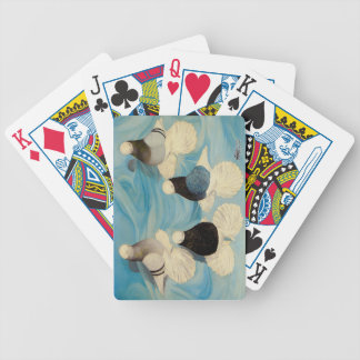 Muffed Tumblers Four Bicycle Playing Cards