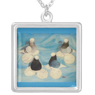 Muffed Tumblers Four Custom Necklace