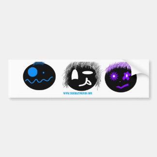 Muffin Faces Bumper Sticker
