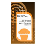 muffin loyalty oranges business card templates