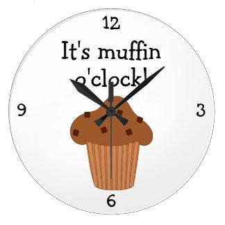 Muffin O Clock fun food graphic