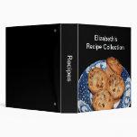 Muffin Plate Recipe Binder