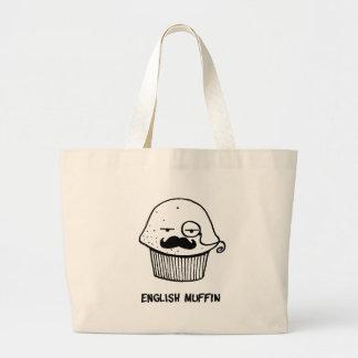 muffin.png inglés bolsa tela grande