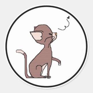 Muffin the Cat Sticker (Meet the Mews)