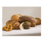 Muffins and dinner rolls postcard