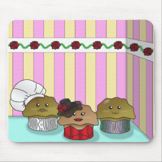 Muffins in their Environment Mouse Pad
